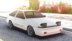 Toyota Corolla AE86 White for GTA San Andreas