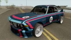 BMW 3.0 CSL 1975 (Blue) for GTA San Andreas
