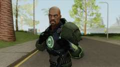 Green Lantern: John Stewart V2 for GTA San Andreas