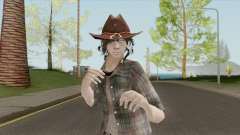 Carl Grimes Season 6 Skin for GTA San Andreas