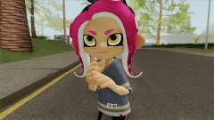 Octoling Girl Pink (Splatoon) for GTA San Andreas