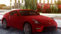 Nissan 370Z Original Red for GTA San Andreas