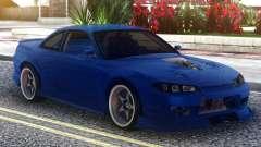 Nissan Silvia S15 Blue for GTA San Andreas