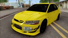 Mitsubishi Lancer EVO VII Initial D Fifth Stage for GTA San Andreas