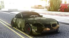 BMW Z4 Camo for GTA San Andreas