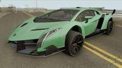 Lamborghini Veneno HQ 2013 for GTA San Andreas