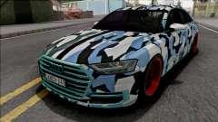 Audi A8 2018 Custom for GTA San Andreas
