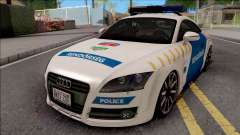 Audi TT Magyar Rendorseg Updated Version for GTA San Andreas