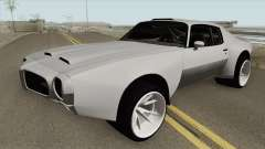 Pontiac Firebird 1970 HQ for GTA San Andreas