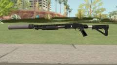 Shrewsbury Pump Shotgun GTA V V6 for GTA San Andreas