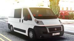 FIAT Ducato Original White for GTA San Andreas