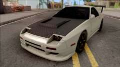 Mazda RX-7 FC3s Initial D fifth Stage Ryosuke for GTA San Andreas