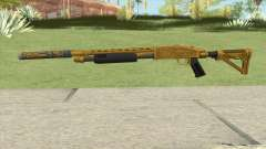 Shrewsbury Pump Shotgun (Luxury Finish) GTA V V5 for GTA San Andreas