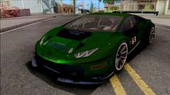 Lamborghini Huracan GT3 2015 Paint Job Preset 2 for GTA San Andreas