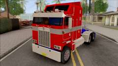 Kenworth K100 Optimus Prime Repintado