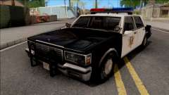 Chevrolet Caprice 1986 Police LVPD SA Style for GTA San Andreas