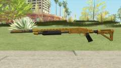 Shrewsbury Pump Shotgun (Luxury Finish) GTA V V2 for GTA San Andreas