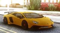 Lamborghini Aventador SuperVeloce for GTA San Andreas