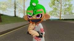 Octoling Boy Green (Splatoon) for GTA San Andreas