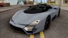 SSC Tuatara 2011 Low Reflections Style for GTA San Andreas