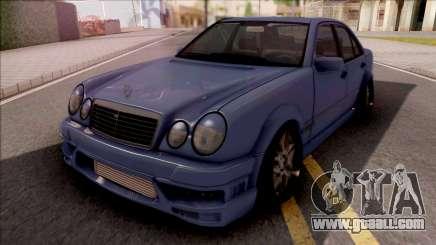Mercedes-Benz W210 E420 for GTA San Andreas