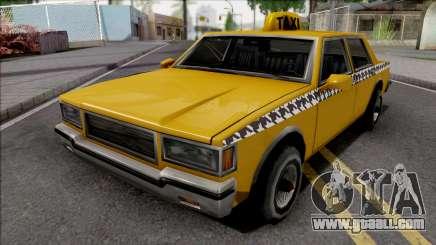 Declasse Taxi 1987 for GTA San Andreas