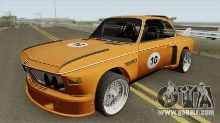BMW 3.0 CSL 1975 (Orange) for GTA San Andreas