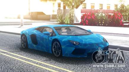 Lamborghini Aventador Underwater for GTA San Andreas