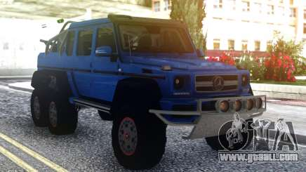 Mercedes-Benz G63 AMG 6x6 Offroad for GTA San Andreas