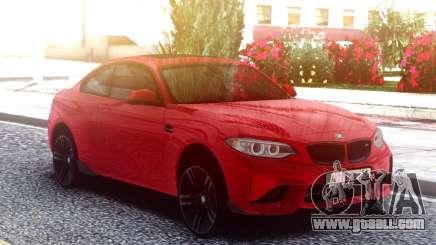 BMW M2 Red Original for GTA San Andreas