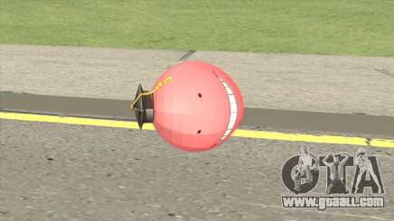 Korosensei Grenade (Red) for GTA San Andreas