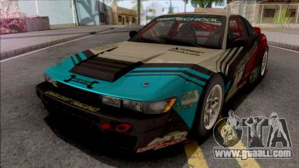 Nissan Silvia S13SX 1993 Rocket Bunny for GTA San Andreas