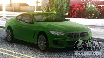 BMW M850i Green for GTA San Andreas