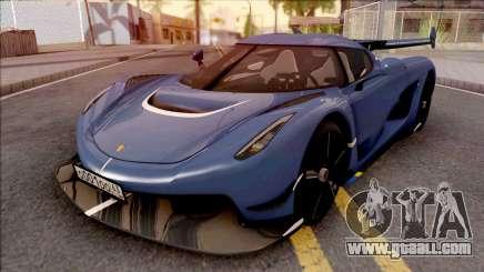 Koenigsegg Jesko 2020 for GTA San Andreas