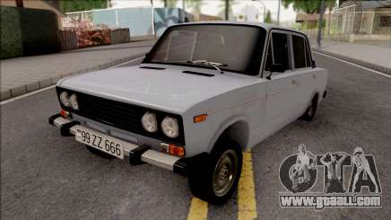 VAZ 2106 AZE Style Wealthy for GTA San Andreas