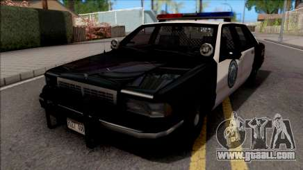 Chevrolet Caprice 1992 Police LSPD SA Style for GTA San Andreas