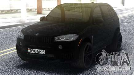 BMW X5M All Black for GTA San Andreas