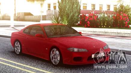 Nissan Silvia S15 Red Original for GTA San Andreas
