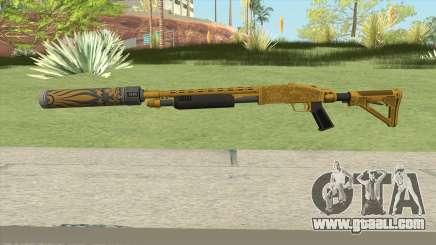 Shrewsbury Pump Shotgun (Luxury Finish) GTA V V6 for GTA San Andreas