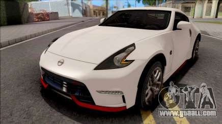 Nissan 370Z Nismo White for GTA San Andreas