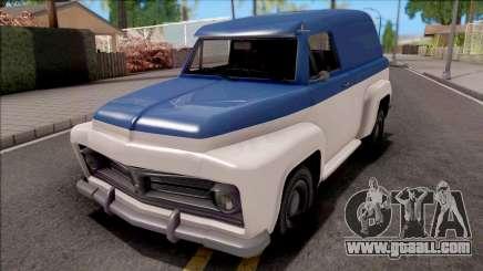 GTA V Vapid Slamvan for GTA San Andreas