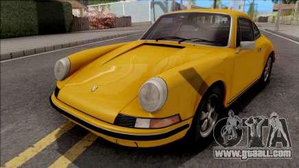 Porsche 911E 1969 for GTA San Andreas