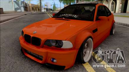 BMW 3-er E46 2000 Stance by Hazzard Garage for GTA San Andreas