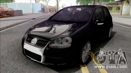Volkswagen Golf R32 Black for GTA San Andreas