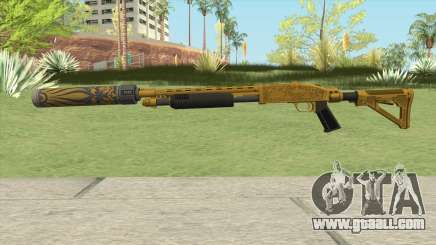 Shrewsbury Pump Shotgun (Luxury Finish) GTA V V3 for GTA San Andreas