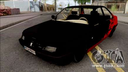 Peugeot 405 Sport Black for GTA San Andreas
