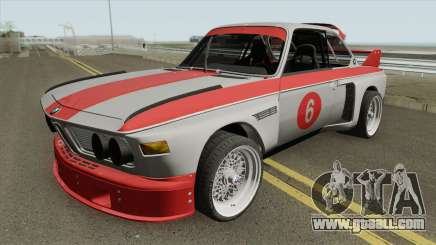 BMW 3.0 CSL 1975 (Gray) for GTA San Andreas
