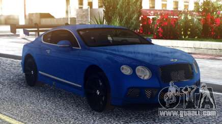 Bentley Continental Sport Blue for GTA San Andreas
