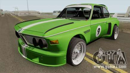 BMW 3.0 CSL 1975 (Green) for GTA San Andreas