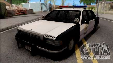 Сhevrolet Caprice 1992 Police LVPD SA Style for GTA San Andreas